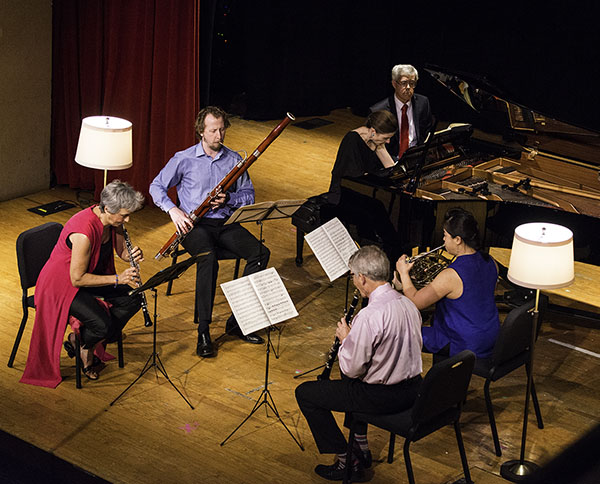 Chesapeake Chamber Music Festival musicians rehearse at the Avalon Theatre in Easton.