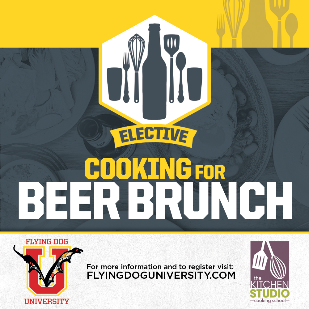 Cooking with Beer for Brunch poster