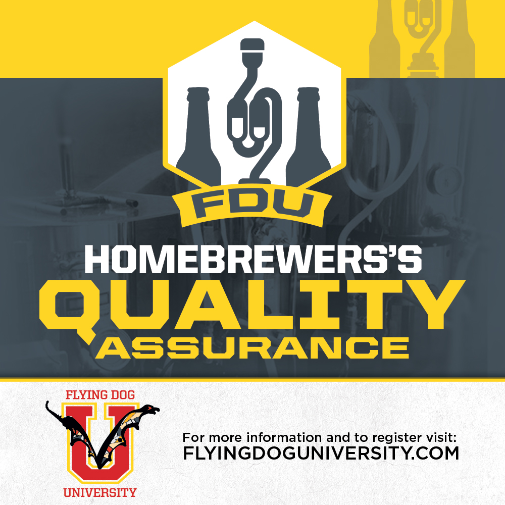 Homebrewers Quality Assurance poster