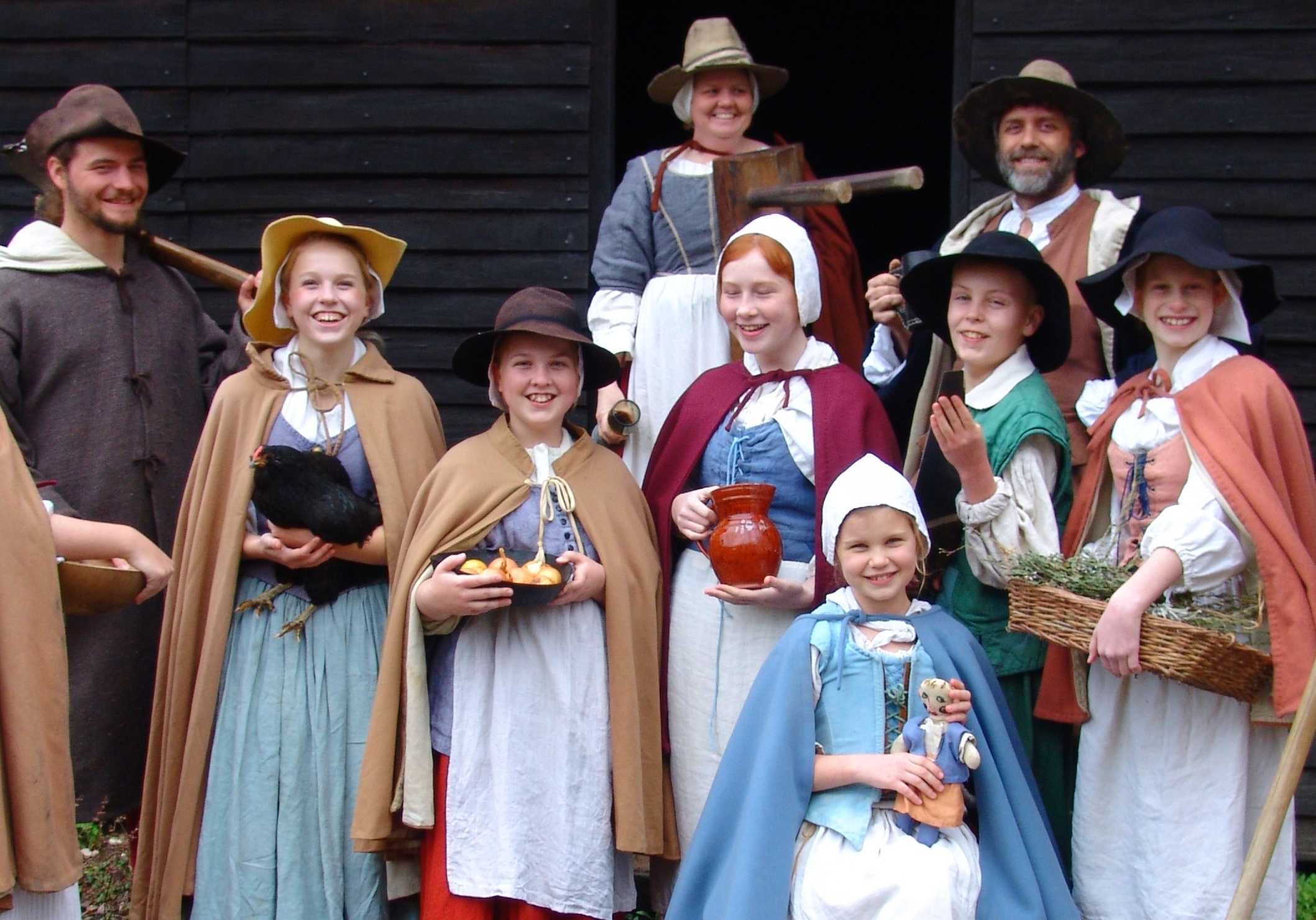 Colonial Christmas at Historic St. Mary's City