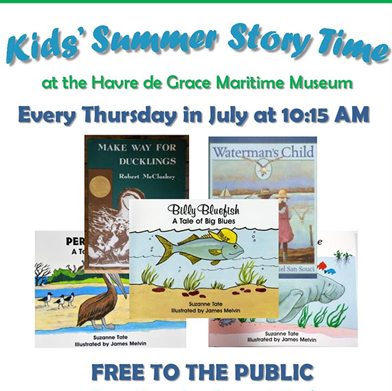 Kids' Summer Story Time flyer
