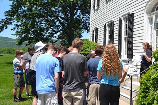 A Civil War Tour at Seton Shrine