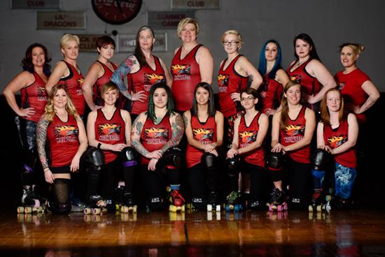 Salisbury Rollergirls Wicomikazis