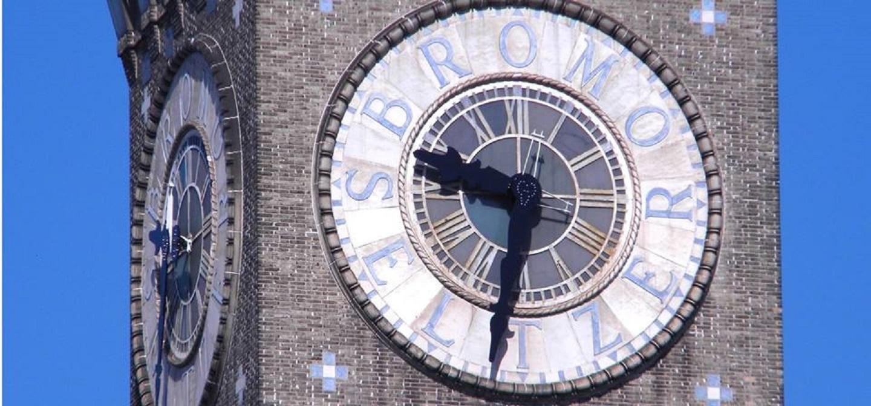 Bromo Seltzer Arts Tower clock