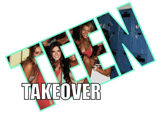 Teen Takeover poster