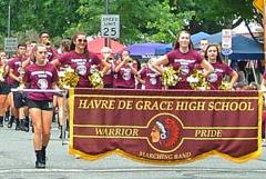 Warrior Pride Marching in Havre de Grace