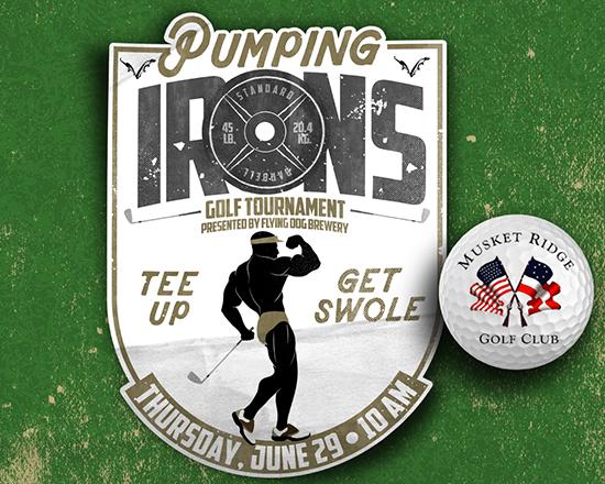 Pumping Irons logo