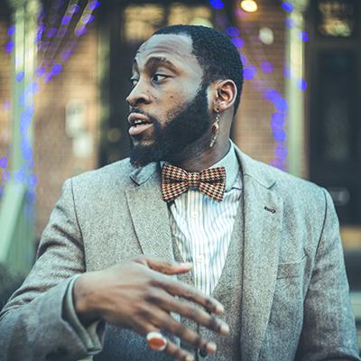 Jazz musician Michael Mwenso