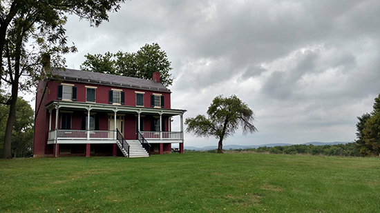 Worthington House at Monocacy National Battlefield