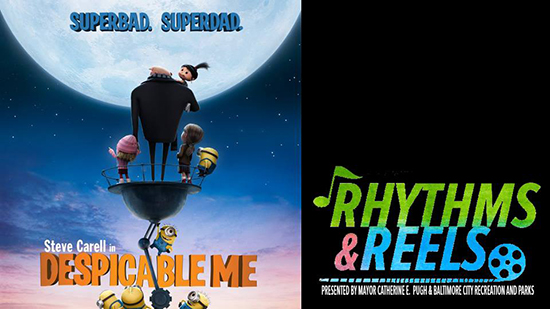 Rhythms and Reels - Despicable Me poster