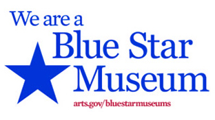 We are a 2017 Blue Star Museum banner