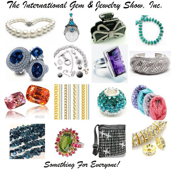 The International Gem and Jewelry Show flyer