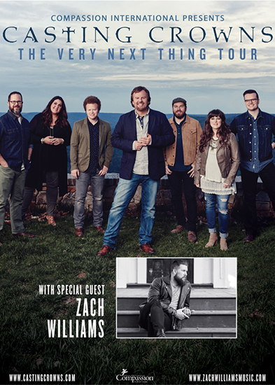 Casting Crowns and Zach Williams