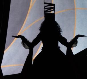 Costume in the HIGH DRAMA exhibit.