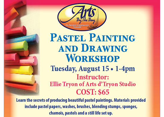 Pastel Painting and Drawing Workshop flyer