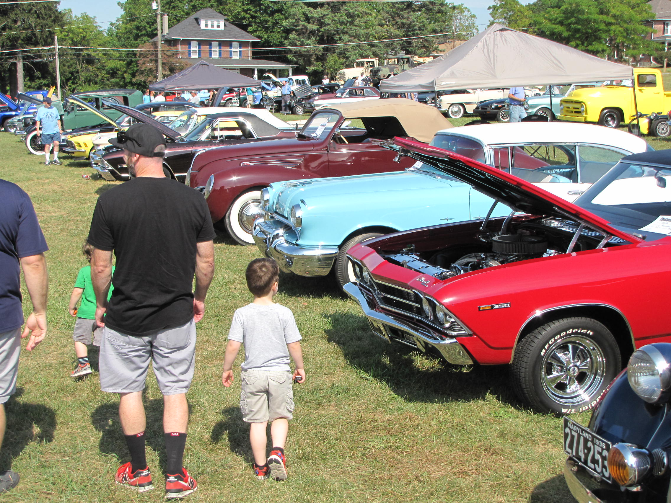 Collector Car Show Field