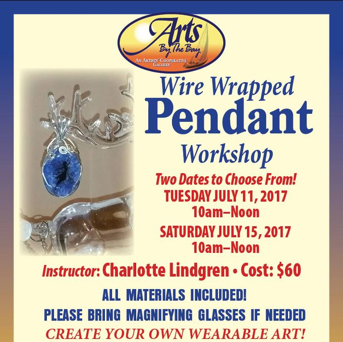 Wire Wrapped Pendant Workshop