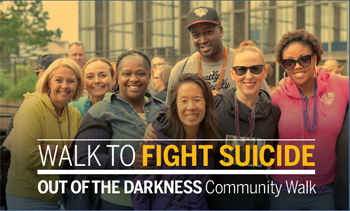 Baltimore Out of the Darkness Walk, October 21