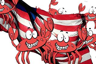Crab Feast Flag Logo
