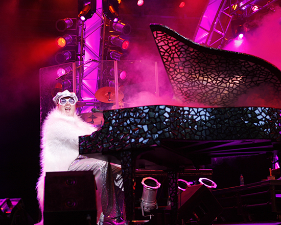 Captain Fantastic as Elton John