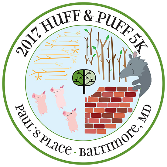 Huff and Puff 5K logo