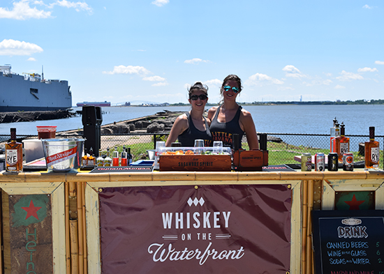 Photo from earlier Whiskey on the Waterfront