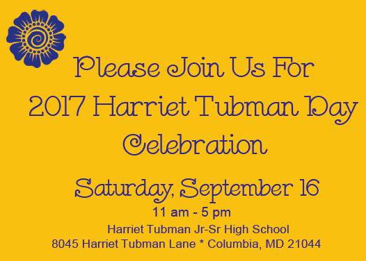 Harriet Tubman Day flyer