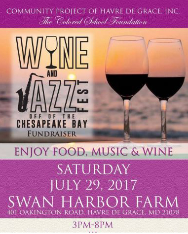 Poster for Wine and Jazz Fest