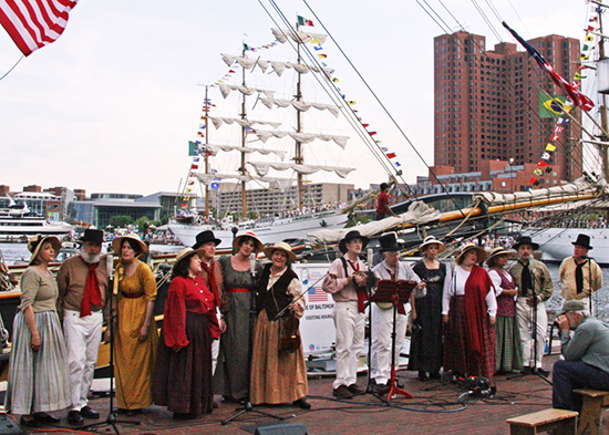 Maritime Voices on Pier 1 Baltimore Harbor