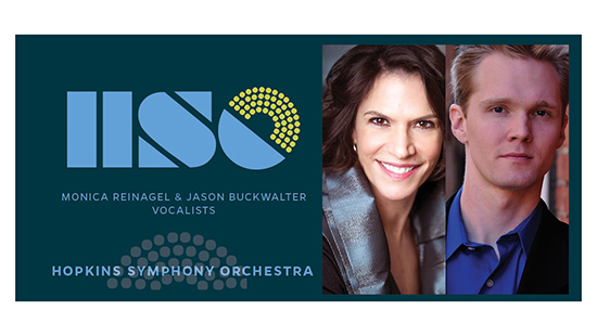 Monica Reinagel and Jason Buckwalter, soloists