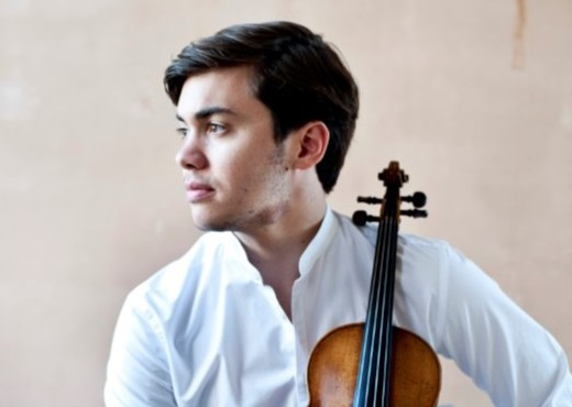 Benjamin Beilman with Violin