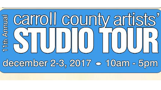 Carroll County Artists' Studio Tour sign