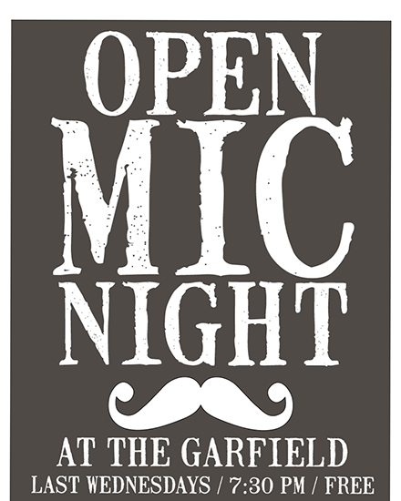 Open Mic Night Event Flyer