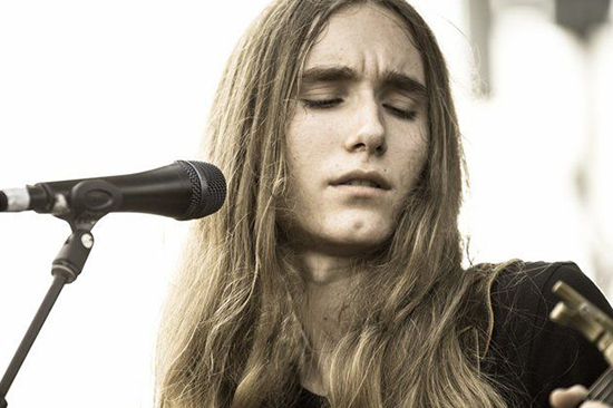 Press photo of Sawyer Fredericks