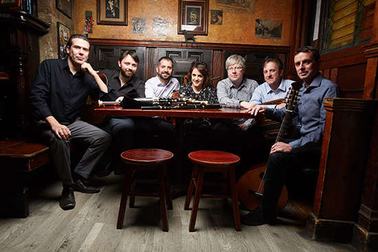 The Irish musicians of Danú