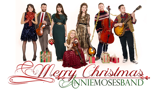 Annie Moses Band Group Photo for Christmas