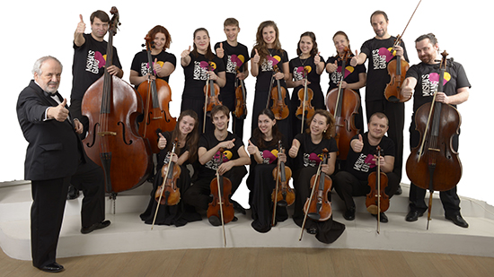 Russian String Orchestra Group Photo