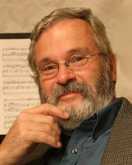 Photo of composer Hollis Thoms