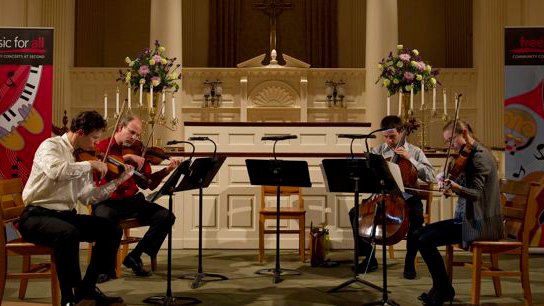 BSO Musicians Perform Chamber Music by Candlelight