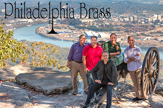 photo of the Philadelphia Brass ensemble