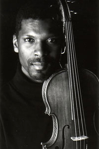 Amadi Azikiwe, with viola