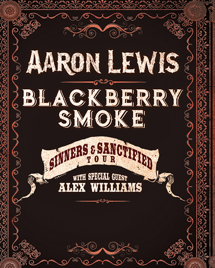 Aaron Lewis & Blackberry Smoke Tour Logo