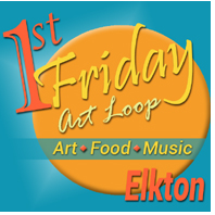 First Fridays in Elkton Art Loop Logo
