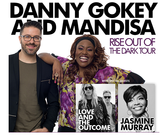 Danny Gokey and Mandisa Tour poster