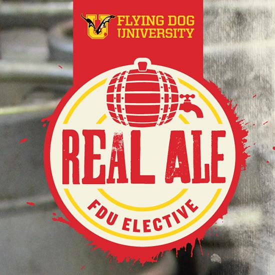 Flying Dog University - Real Ale logo