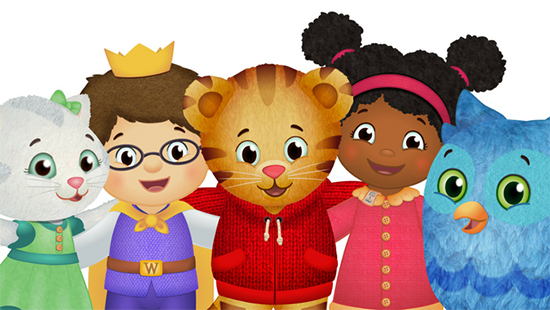 Image of Daniel Tiger and friends