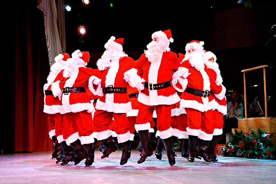Baltimore School for the Arts Dancing Santas