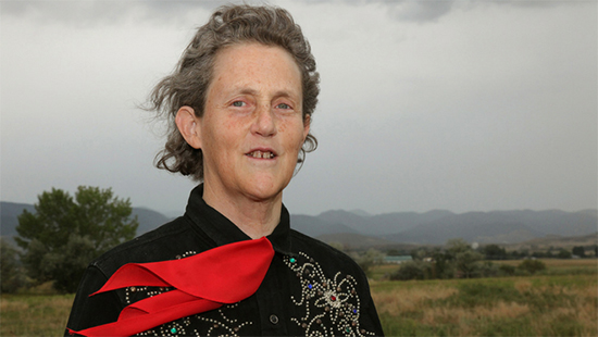 Photo of Dr. Temple Grandin.