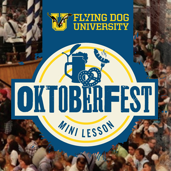 Flying Dog University - Oktoberfest logo