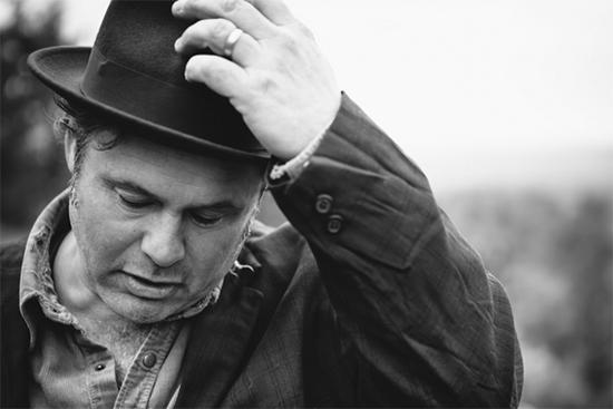 Black and White Photo of Martin Sexton.